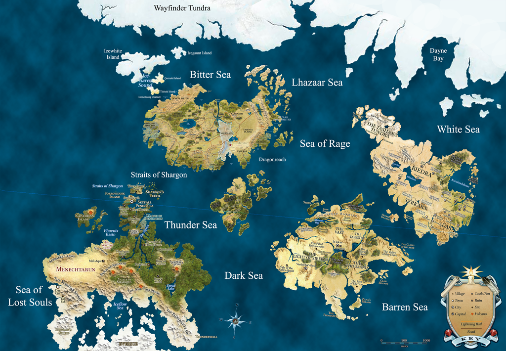 High Quality Dungeons + Dragons Map (Revised) By Nintendraw ...