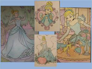 Randomly Coloring Cinderella