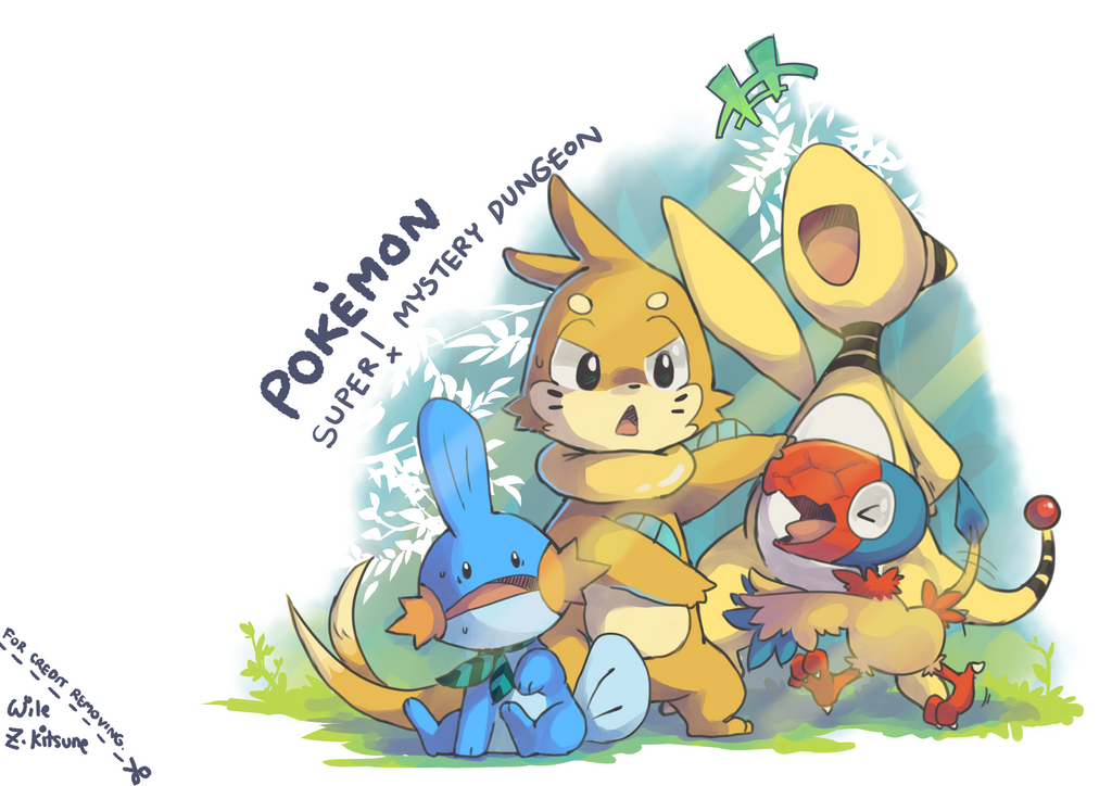 Pokemon Expedition Group! by Wile-Z-Kitsune