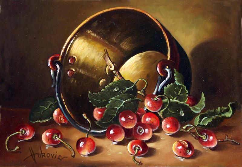 cherries by dusanvukovic