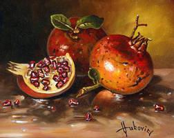 Pomegranates by dusanvukovic