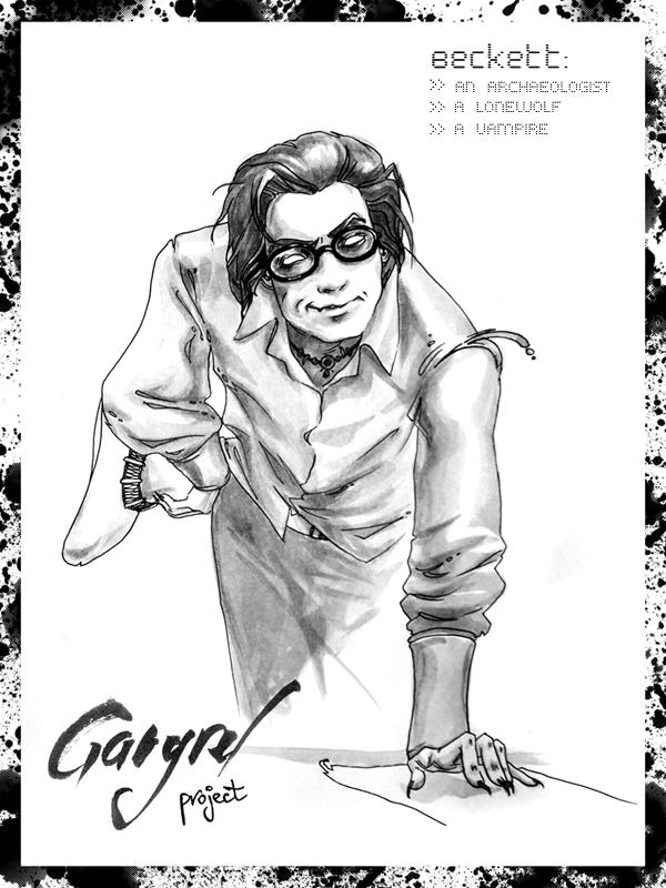 GangRel Project :: Beckett by erebus-odora