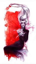Black Widow by erebus-odora