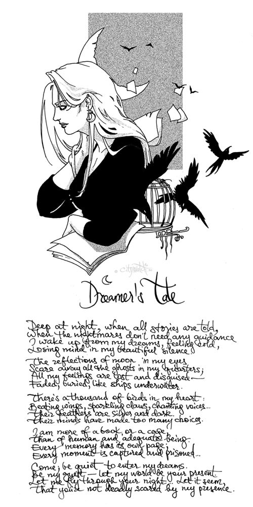 Dreamer's Tale by erebus-odora