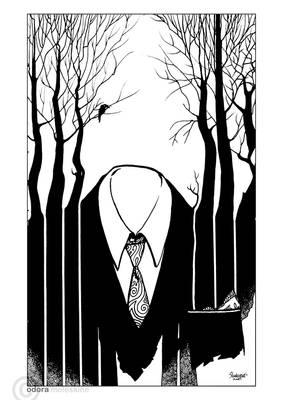 Moleskine: Pinstripe Trees