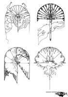 Mirrorshapes I by erebus-odora