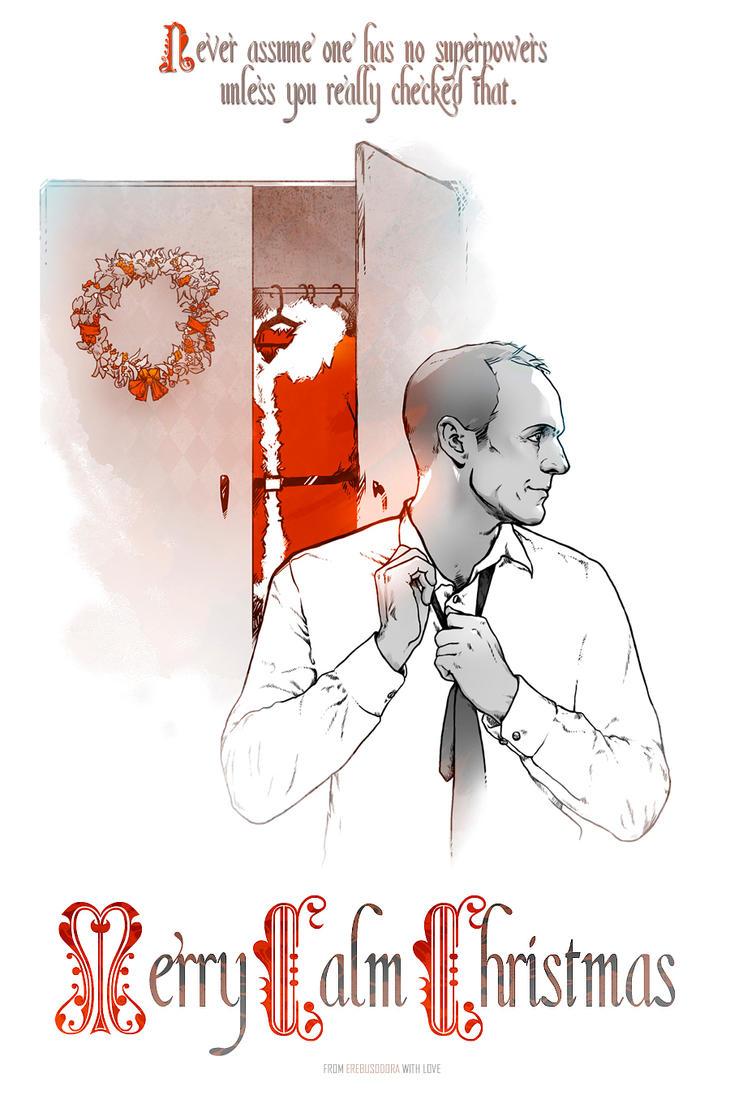 Merry Calm Christmas by erebus-odora