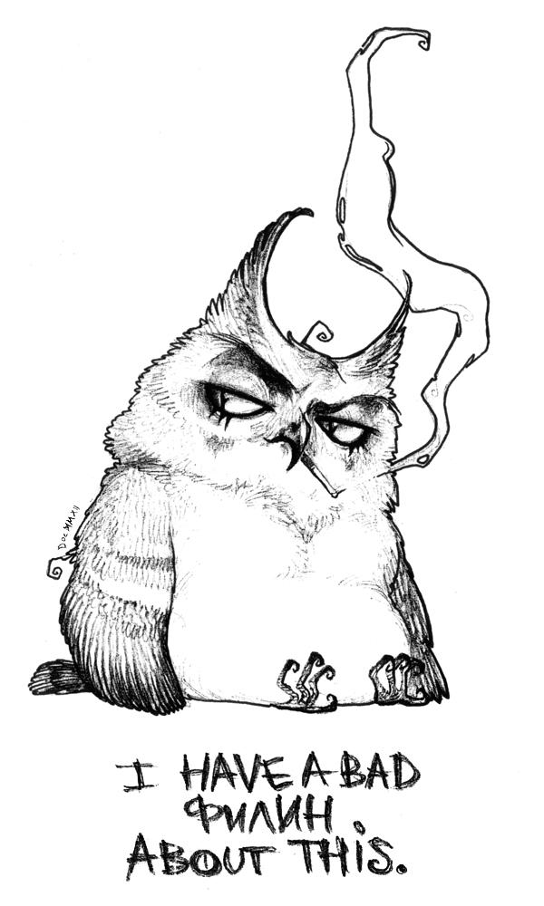 Bad Feelin' by erebus-odora