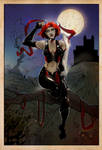 Bloodrayne: the colouring
