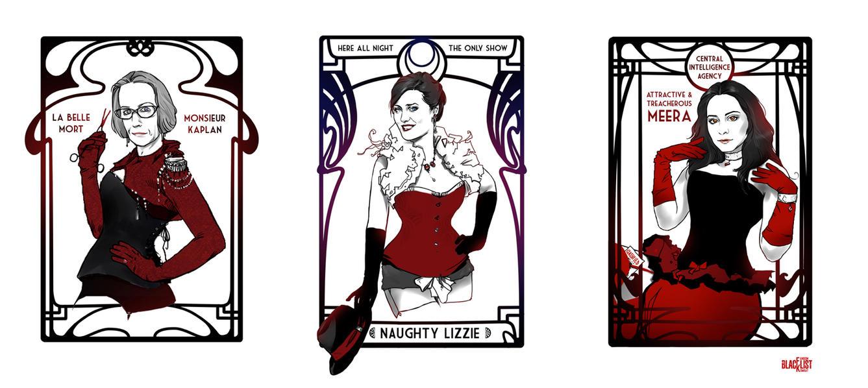 Red Cabaret :: Blacklist Fandom by erebus-odora