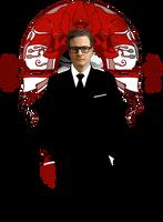 Red Right Hand :: Colin Firth by erebus-odora