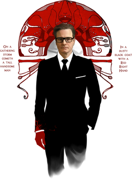 Red Right Hand :: Colin Firth