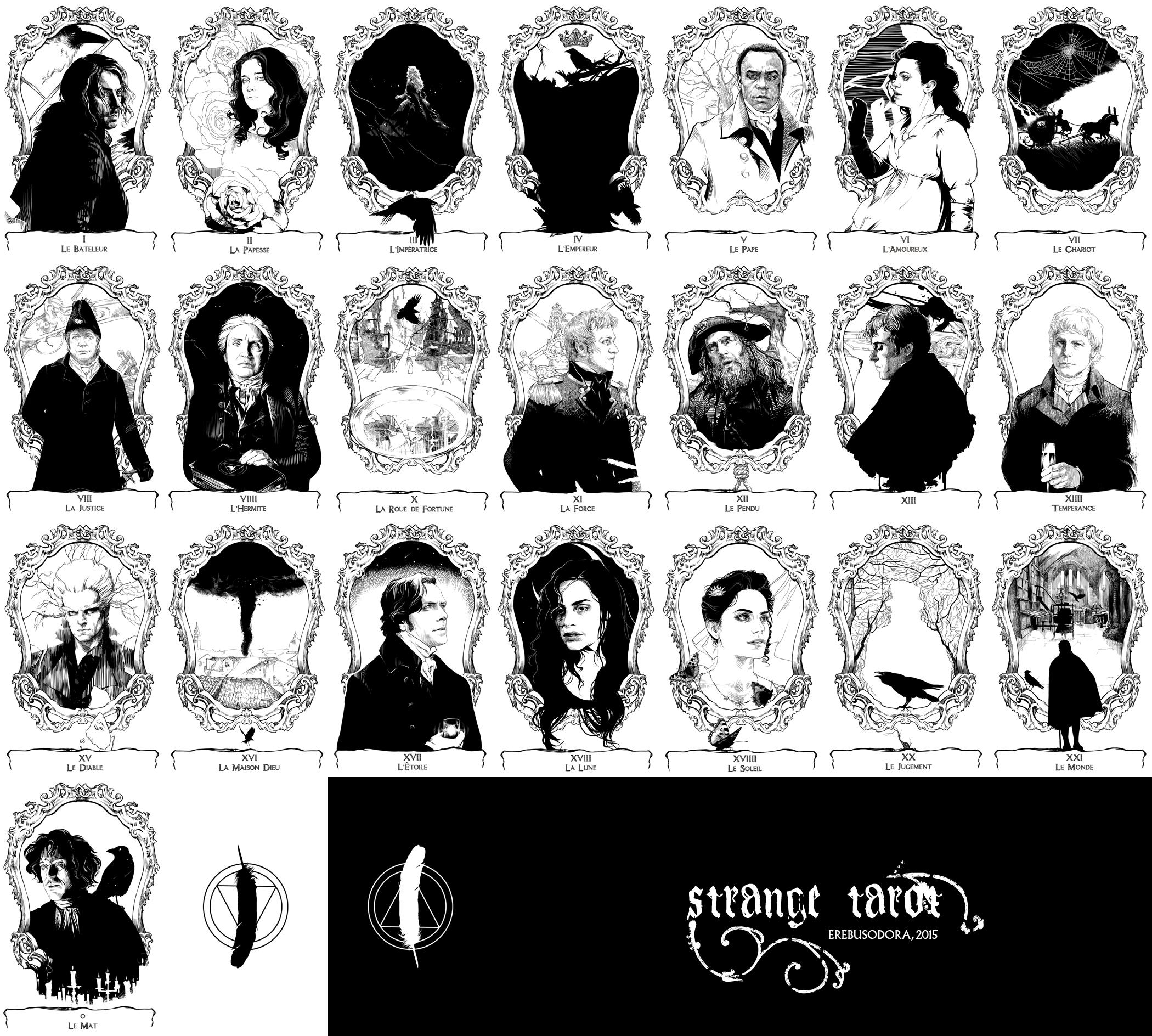Strange Tarot :: Major Arcana by erebus-odora