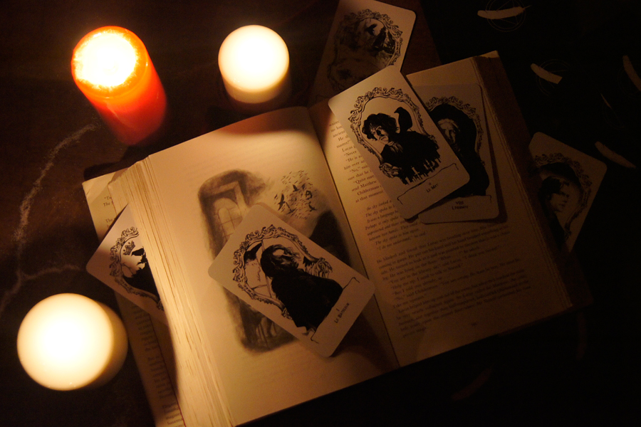 The Raven King three candles lit... by erebus-odora