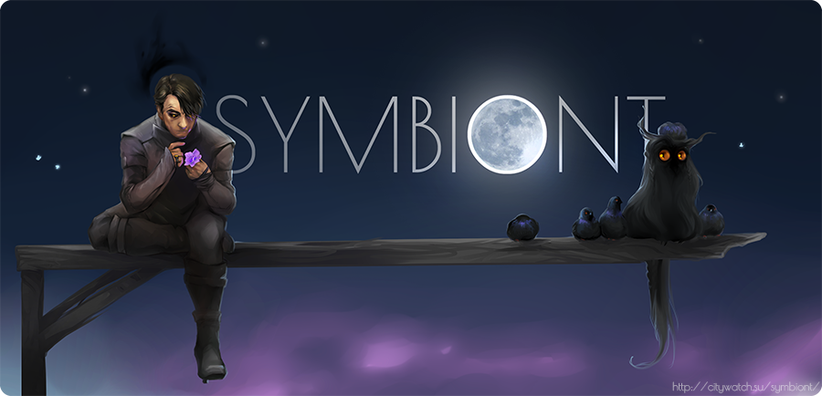Symbiont: night banner by erebus-odora