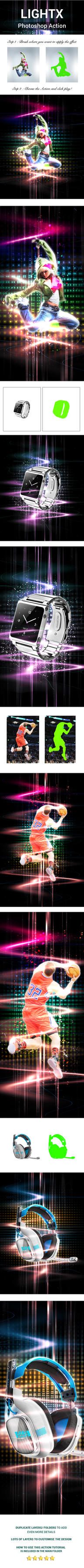 LightX Photoshop Action by yekpix