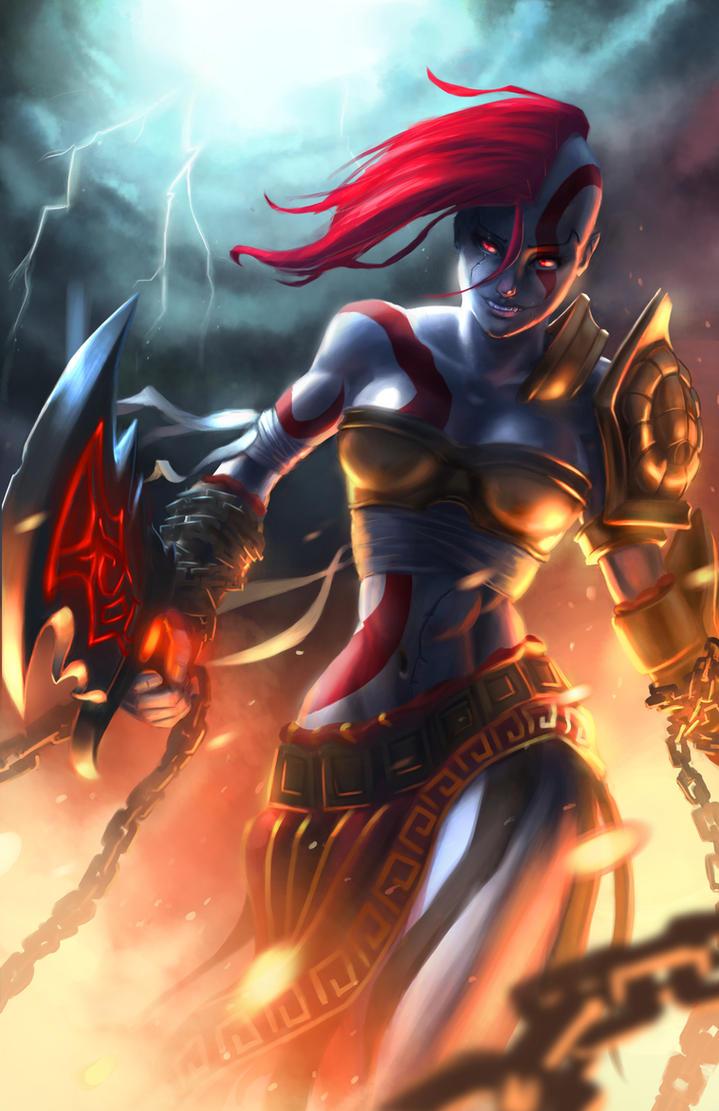 Goddess of War by CaffeineHeart