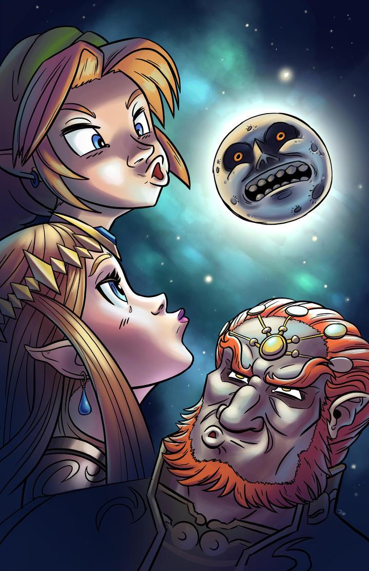 Zelda Moon by CaffeineHeart