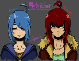 Petrichor Girls~!