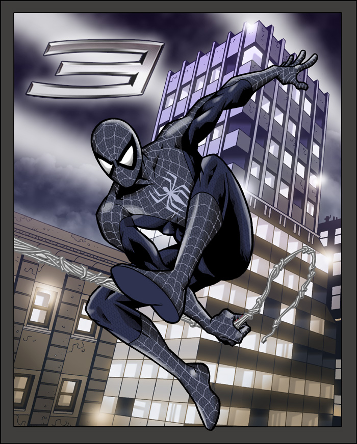 Spiderman 3 black suit by sirjoe64 on DeviantArt