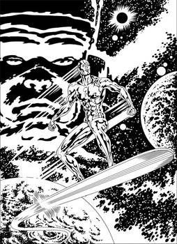 Silver Surfer's coming