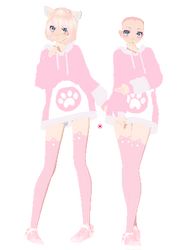 MMD Outfit DL! #2 by PastelCrownOwO