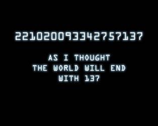 End of the world by IcecoldAngel