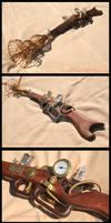 Steampunk Ray Gun 1