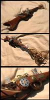 Steampunk Ray Gun mark 2