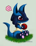 Lucario wants to share