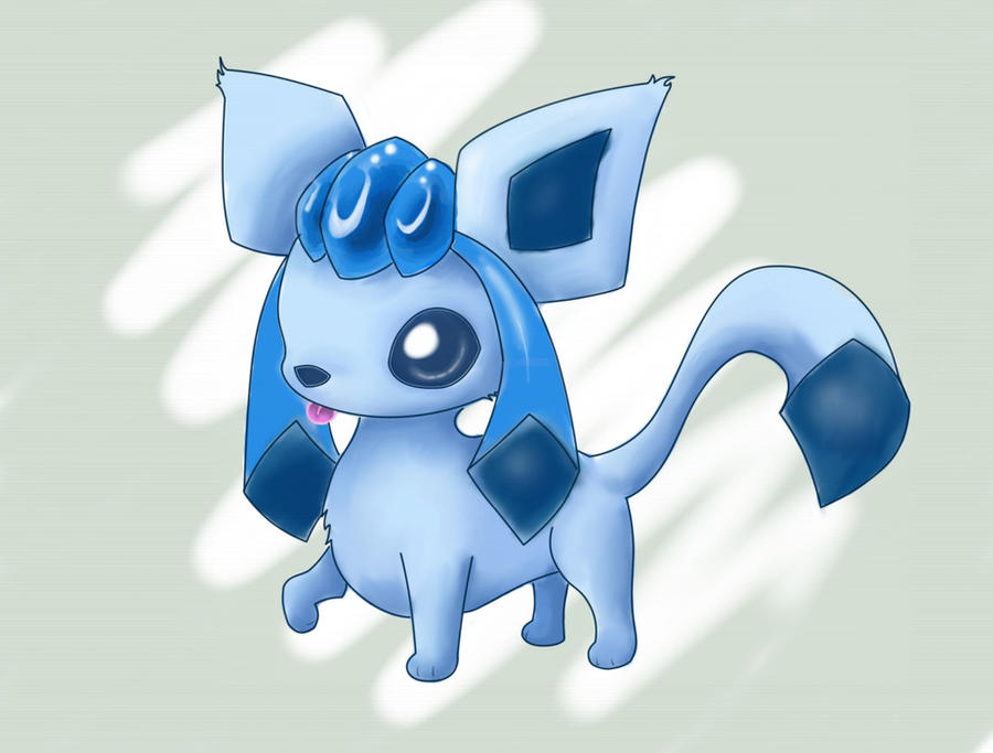 Glaceon repaint