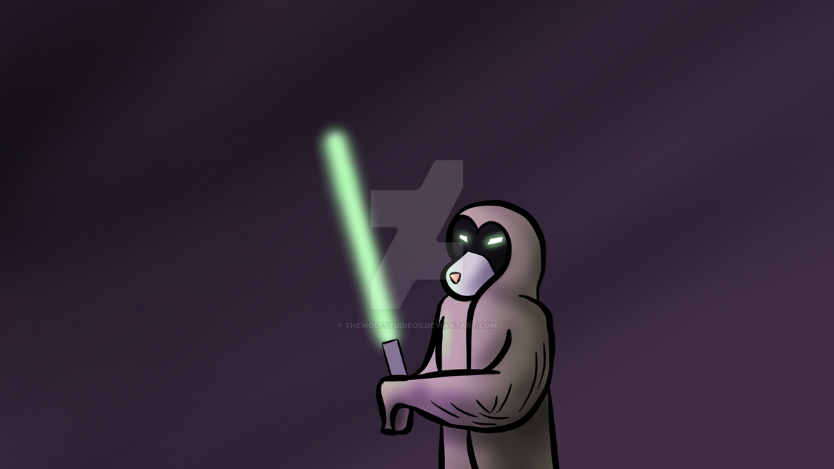 Wolf Starwars Thing (Shading and lighting test) by thewolfstudieos