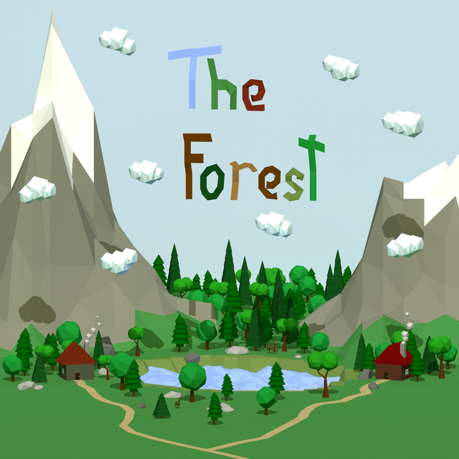 The Forest - LowPoly LandScape by simanunan