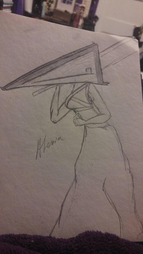 Pyramid Head by RedrumAlexia