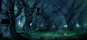 mortal kombat living forest