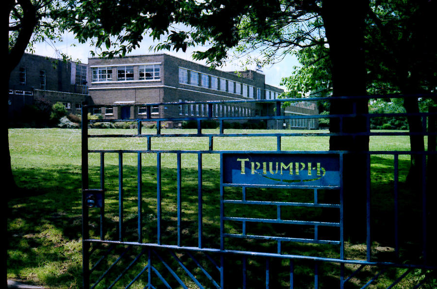 Triumph Meriden Factory