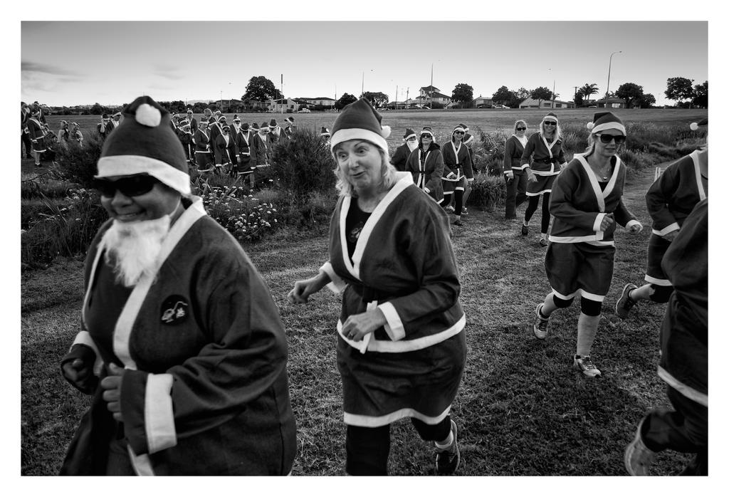 Invasion of the Santas by DougNZ