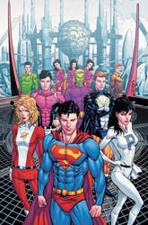 Adventure Comics 12 Cover Art by Hachiman1