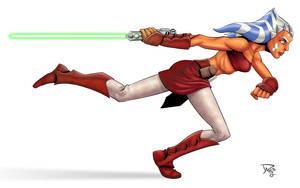 Ahsoka from Clone Wars by Hachiman1