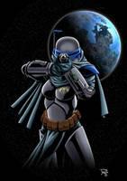 Female Mandolorian Commando by Hachiman1