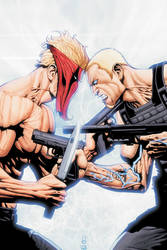 Grifter 8 cover art... by Hachiman1