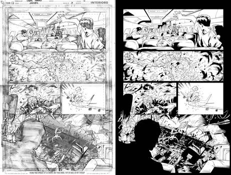 Grifter #8 page 2 inks...