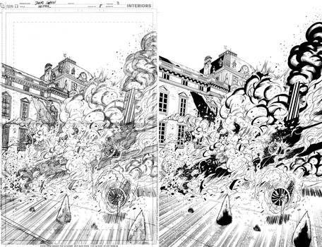 Grifter #8 page 3 inks...