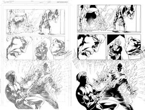 Grifter #13 page 14 inks...