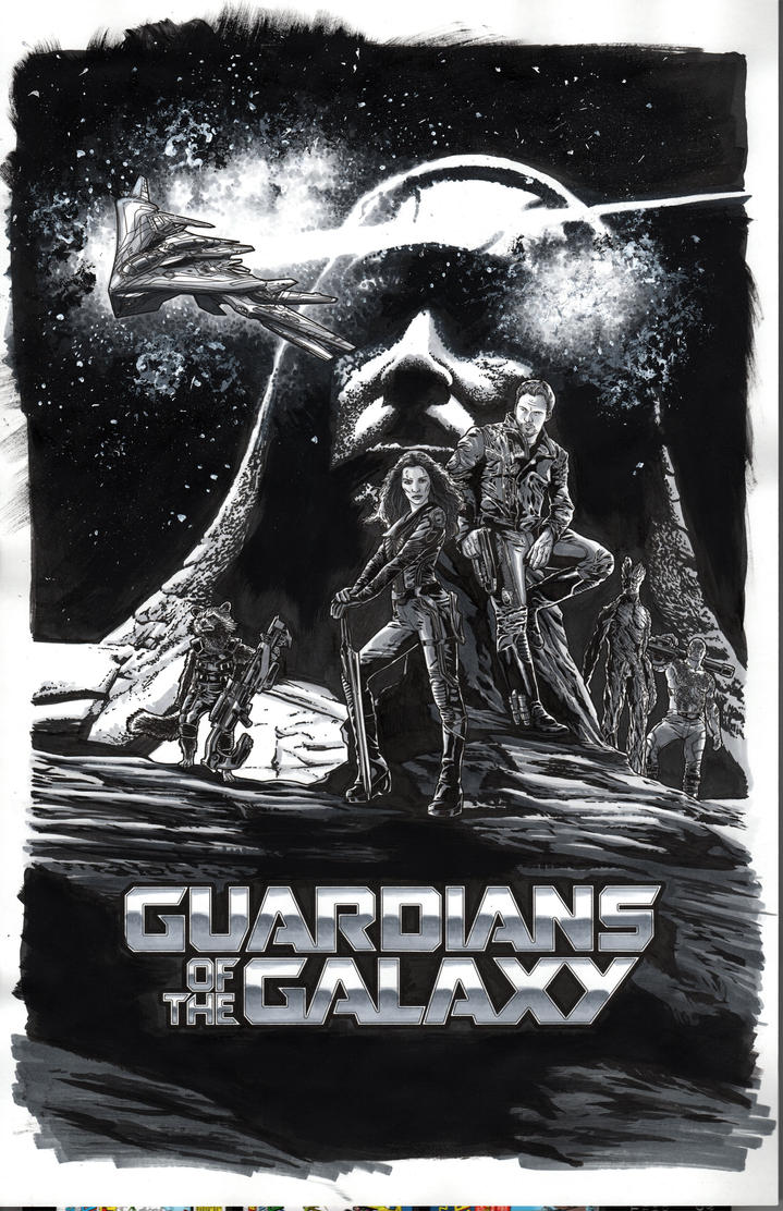Guardians of the Galaxy by Hachiman1