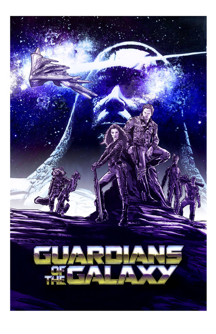 Guardians of the Galaxy color version
