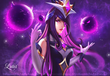 Syndra Star Guardian (League of legends) by LoubackLavoura