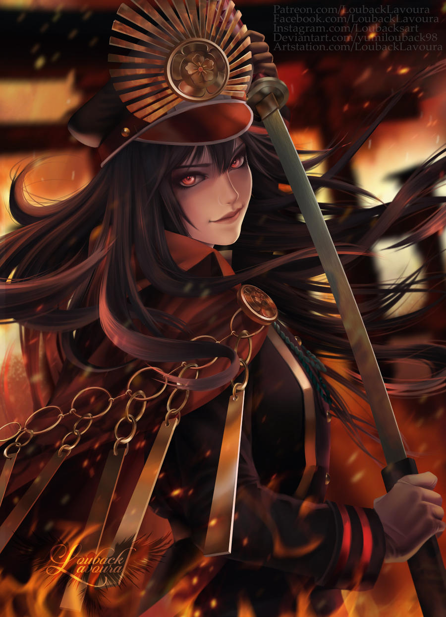 Oda Nobunaga Fate Grand Order By Yumilouback98 On Deviantart