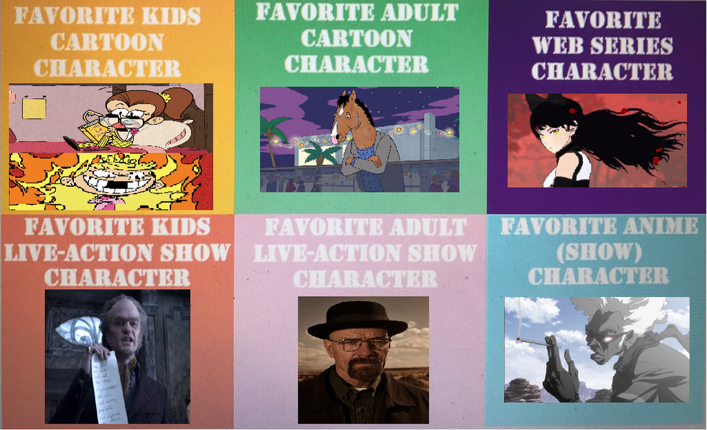Favorite Types of Characters Meme by PowerpuffPony1