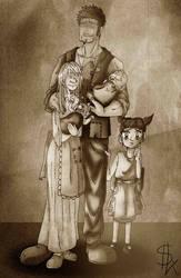 Family Hatsu by Ming-Hatsu